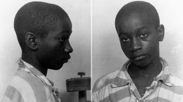 La photo d'arrestation de George Stinney jr